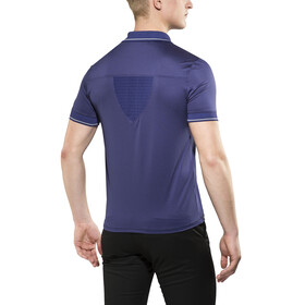 X-Bionic Travel Polo Shirt SS Men Blue Marine